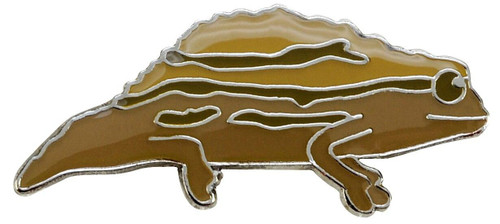 All Things Reptile Lapel Pin Stump-Tailed Chameleon