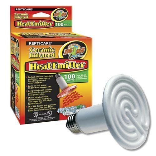 Zoo Med Zoo Med Ceramic Heat Emitter 100 watts