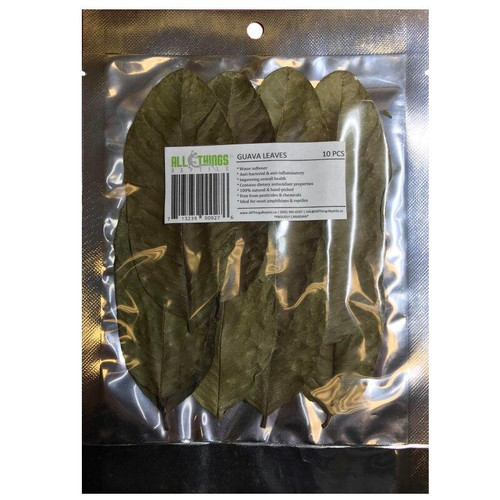 All Things Reptile ATR Guava Leaves Dried Grade A 10 Pack