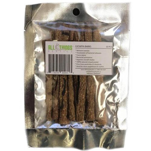 All Things Reptile ATR CATAPPA BARK Dried Grade A 10 Pack