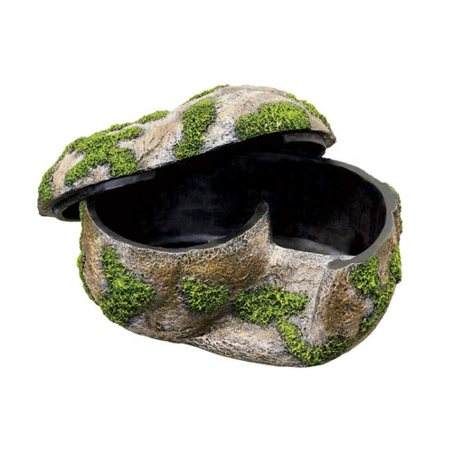 ZIlla Zilla Rock Lair Humidity Hide Lay Box Medium