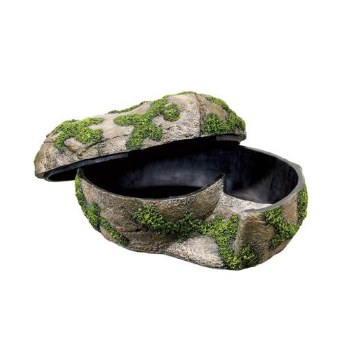 ZIlla Zilla Rock Lair Humidity Hide Lay Box Large
