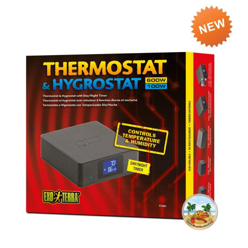 Exo Terra Exo Terra Thermostat 600W and Hygrostat 100W with Day/Night timer
