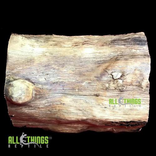 All Things Reptile ATR Natural Log Hide 8L 6D Habba Hut