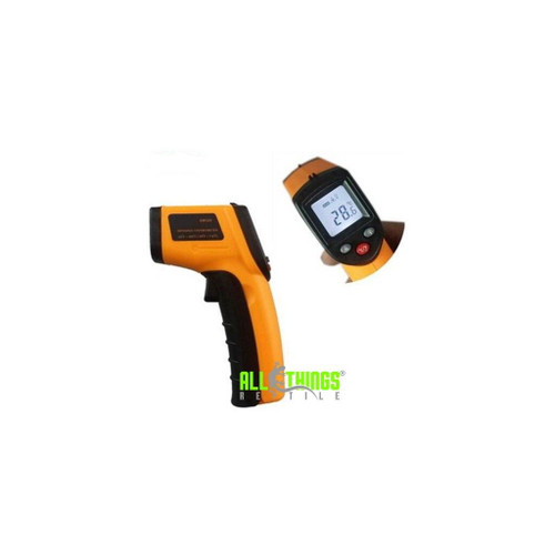 All Things Reptile ATR Infrared IRDigital Temperature Gun Thermometer Non-Contact LCD IR Laser Batteries Included
