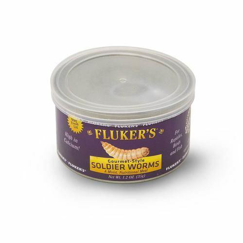 Flukers Flukers Gourmet-Style Soldier Worms - 1.2 oz