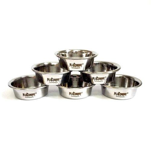 All Things Reptile ATR Stainless Steel Feeding Cups/Dishes 0.5oz - 1 pc