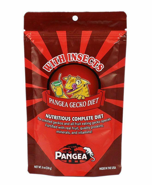 Pangea Pangea Fruit Mix with Insects Complete Gecko Diet 8oz