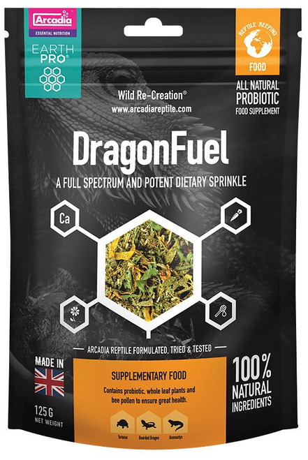 Arcadia Arcadia EarthPro DragonFuel 125g pouch See Note about best before date