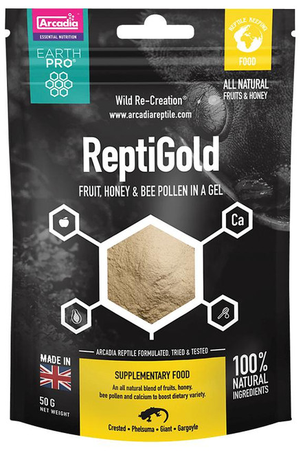 Arcadia Arcadia EarthPro ReptiGold 50g See Note about best before date