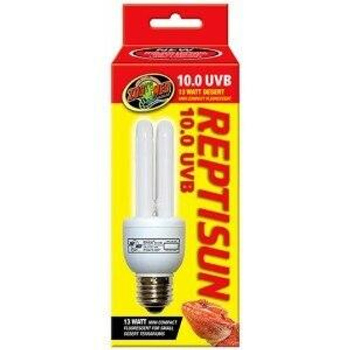 Zoo Med Zoo Med ReptiSun 10.0 UVB Compact Fluorescent 13w