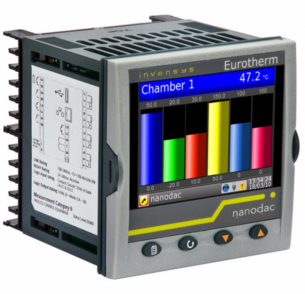 Eurotherm nanodac recorder