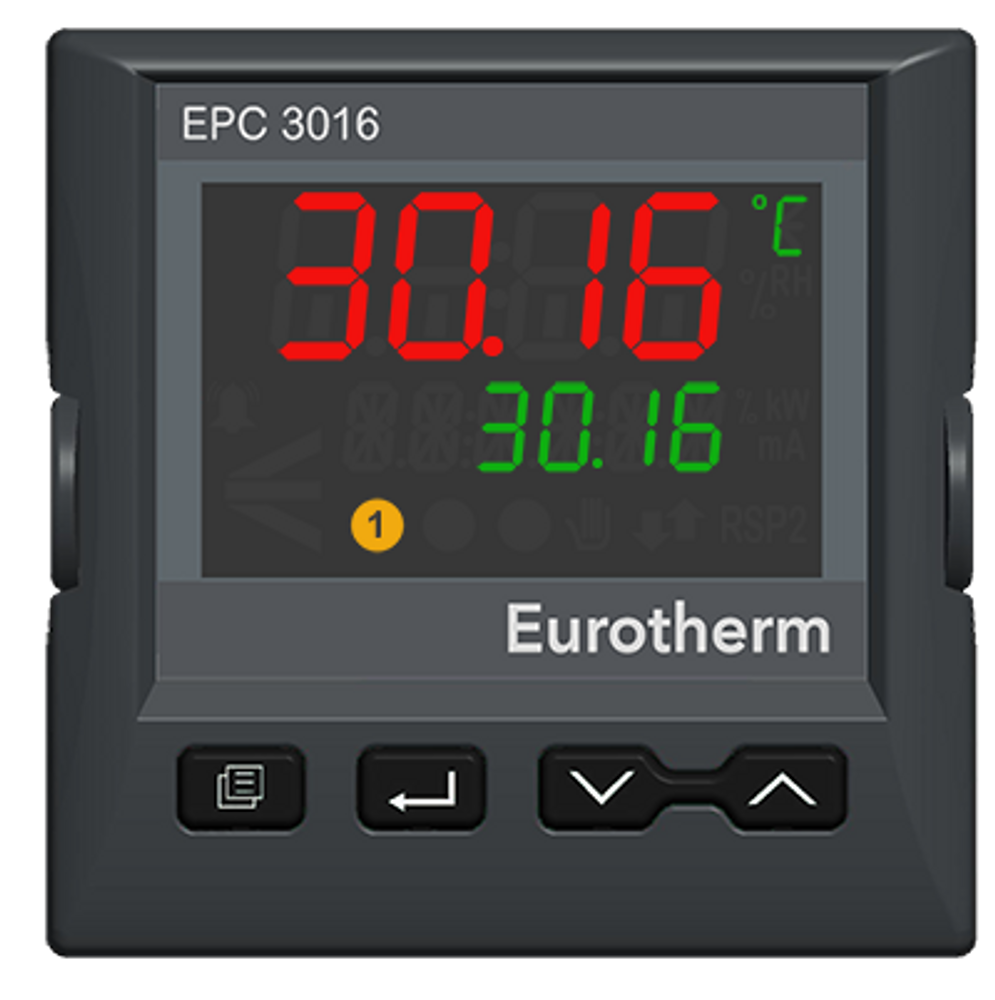 Eurotherm EPC3016 1/16 DIN Process and Temperature Controller