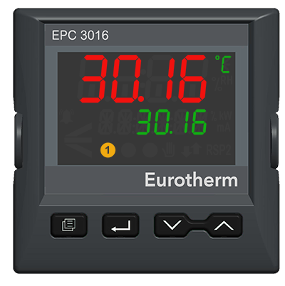 CUSTOMIZABLE EPC3016 1/16 DIN Process and Temperature Controller