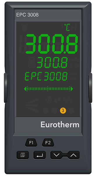 CUSTOMIZABLE EPC3008 1/8 DIN Process and Temperature Controller