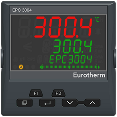 CUSTOMIZABLE EPC3004 1/4 DIN Process and Temperature Controller