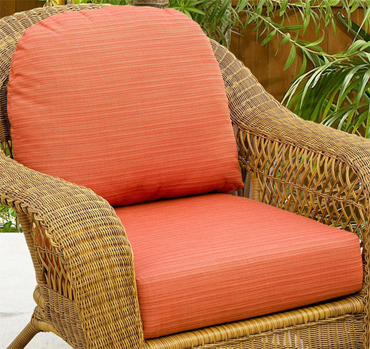 NorthCape International Wicker Deep Seating Chair Replacement Cushions