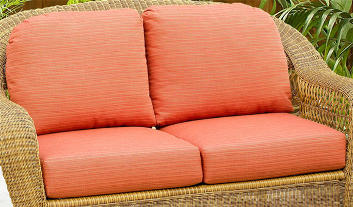 Replacement Cushions for NorthCape International Wicker Deep Seating Loveseat