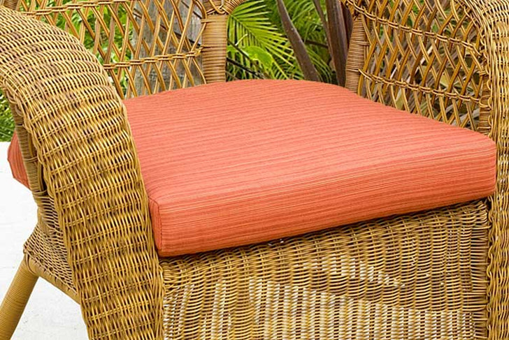 Replacement Cushion for NorthCape International Wicker Deep Seating Rocker & Dining Chair
