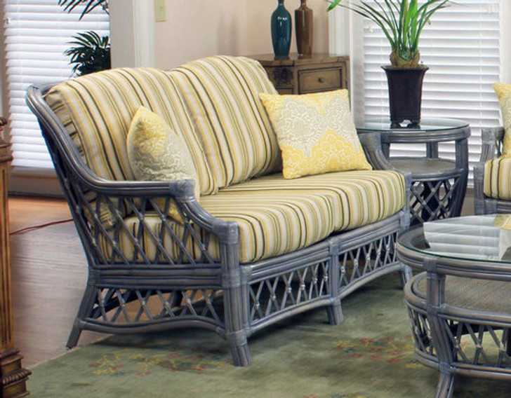 Replacement Cushions for South Sea Rattan Nadine Loveseat