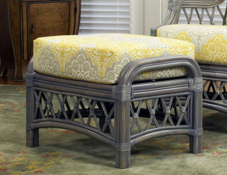 Replacement Cushions for South Sea Rattan Nadine Ottoman