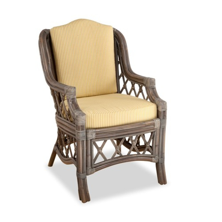 Replacement Cushions for South Sea Rattan Nadine Dining Arm Chair