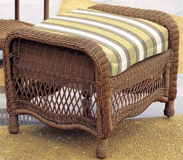 Replacement Cushions for South Sea Rattan Riviera Wicker Ottoman