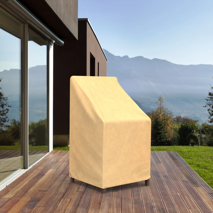 Budge Industries All Seasons Patio Stack of Chair Cover