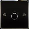 Flat Plate 1G 2-Way 10-200W (5-150W LED) Dimmer Switch - Gunmetal (DFL1FP2181GM)