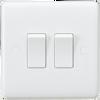 Curved edge 10A 2G 2 way switch (DFL1CU3000)