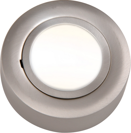 IP20 12V L/V Brushed Chrome Cabinet Fitting Surface or Recessed