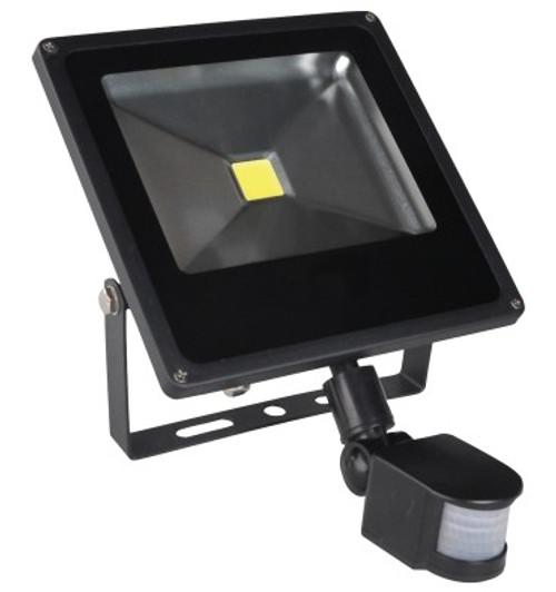 30W LED Flood Light with PIR Sensor