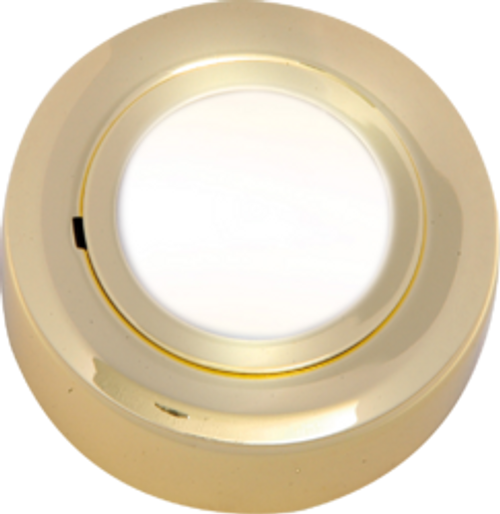 IP20 12V L/V Brass Cabinet Fitting Surface or Recessed