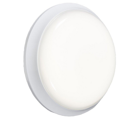 230V IP54 12W Round LED Emergency Bulkhead (DFL1BL12LEDE)