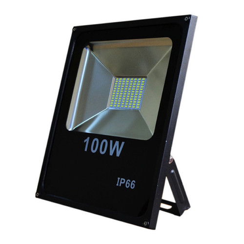 100W LED SMD Slim Flood Light Cool White (6500K)