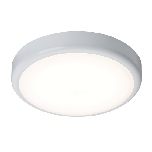 230V IP44 20W Trade LED Flush with Sensor 4000K (380mm) (DFL1BT20S)