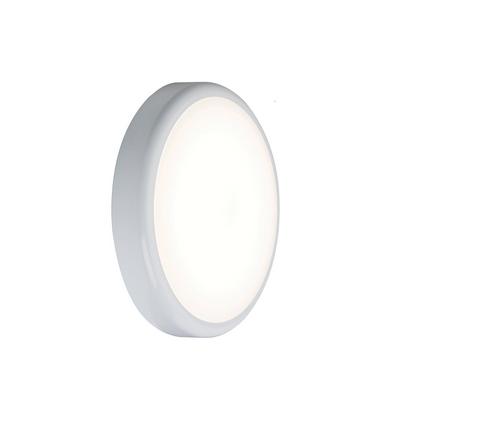 230V IP44 9W Emergency Trade LED Flush with Sensor 6000K (256mm) (DFL1BT9DEMS)