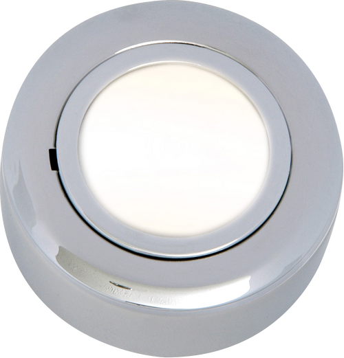 IP20 12V L/V Chrome Cabinet Fitting Surface or Recessed