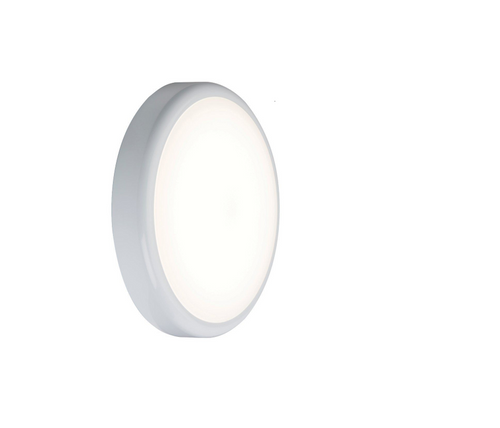 230V IP44 9W Trade LED Flush with Sensor 6000K (256mm) (DFL1BT9DS)