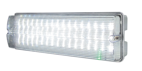 230V IP65 6W LED Emergency Bulkhead