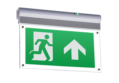 230V IP20 Wall or Ceiling Mounted LED Emergency Exit Sign