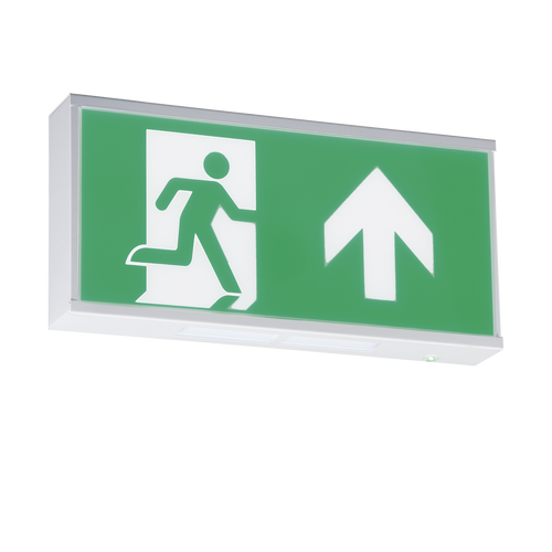 230V IP20 Wall Mounted LED Emergency Exit sign (maintained/non-maintained)