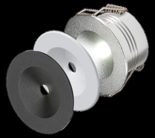 230V IP20 3W LED Emergency Downlight