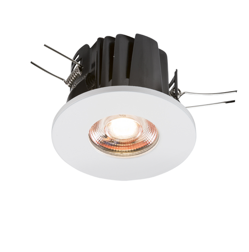 230V IP65 8W Fire-Rated Valknight LED Downlight 3000K