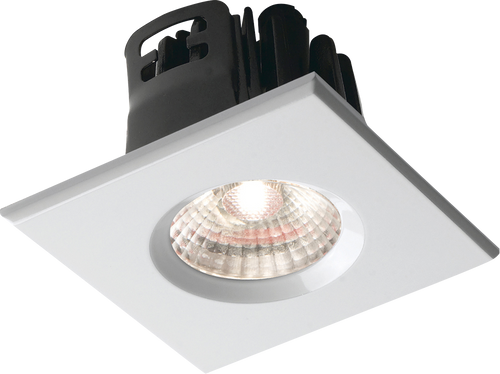 Square White Bezel for VFRCOB Downlights
