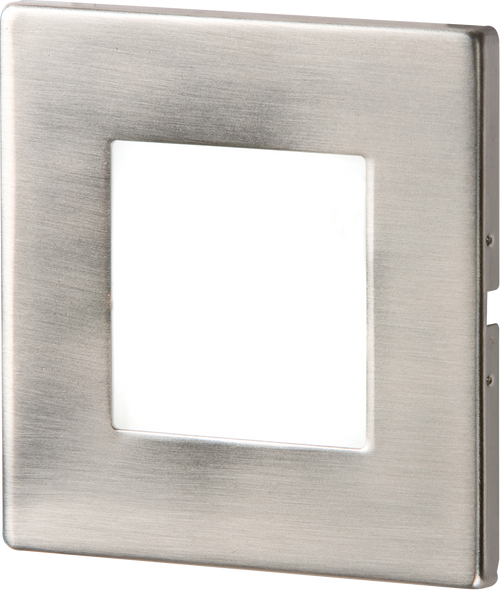 Stainless Steel Recessed LED Wall Light Single White (DFL1NH023W)