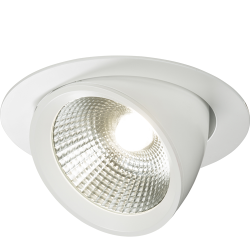 230V 40W Round LED Recessed Adjustable Downlight (DFL1WW40C)