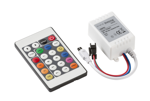 12V IR Controller and Remote - RGB Chaser (DFL1LEDFR3)