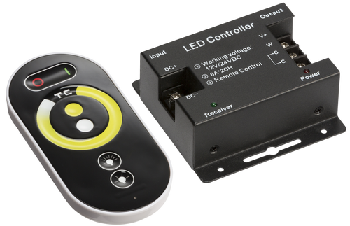 12V / 24V RF Controller and Touch Remote - CCT (DFL1LEDFR8)