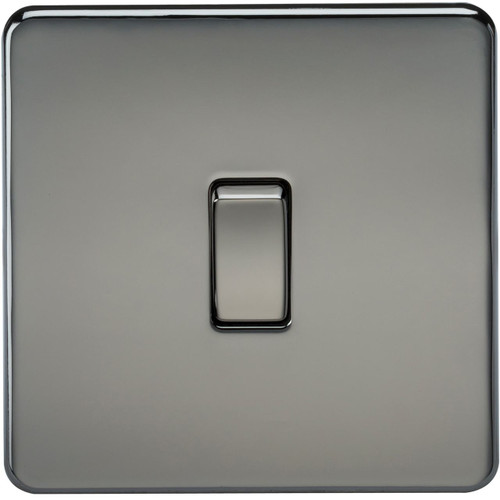 Screwless 10A 1G Intermediate Switch - Black Nickel (DFL1SF1200BN)